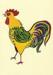 Dominique's Rooster