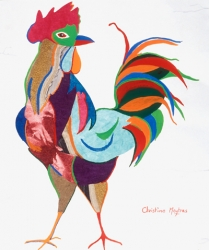Strutting Rooster